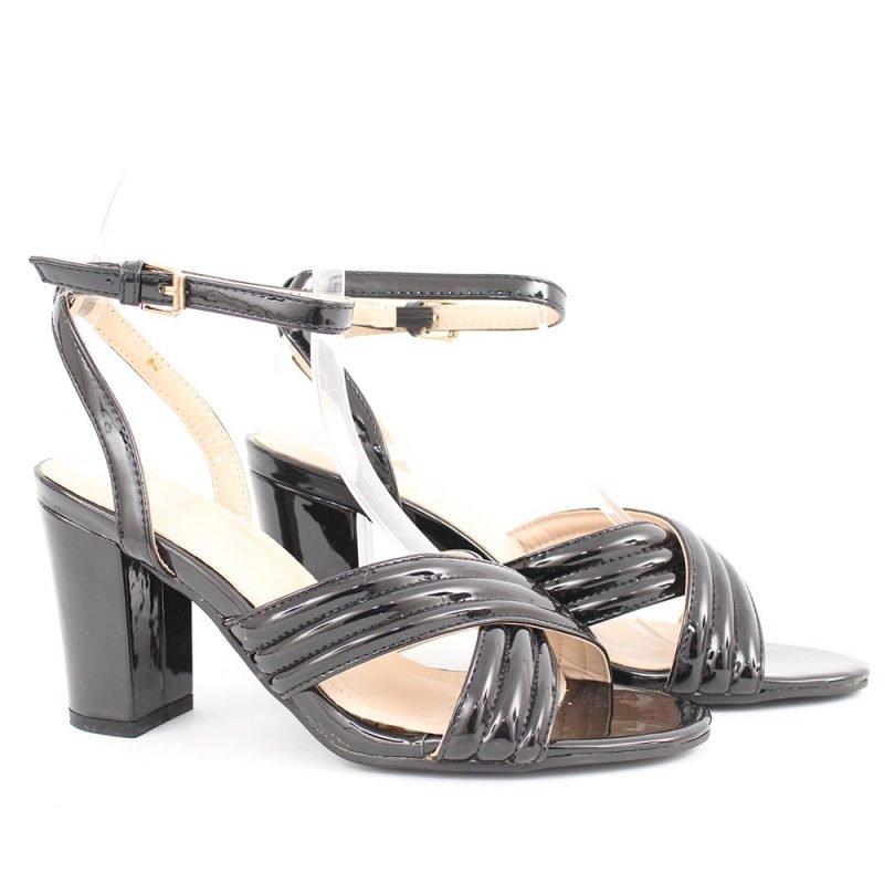 cherni damski sandali visok tok 800x800 - Обувки Онлайн VenDemi