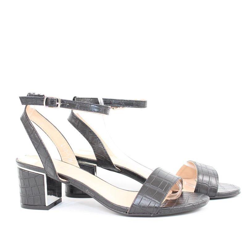 daski sandali niski cherni 800x800 - Обувки Онлайн VenDemi