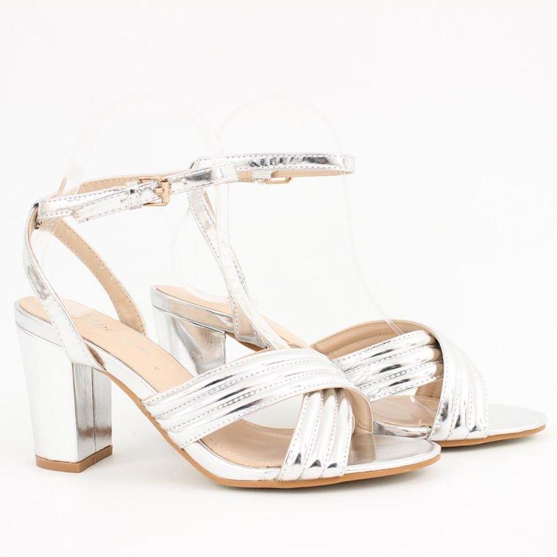 srebristi damski sandali visok tok 800x800 - Обувки Онлайн VenDemi