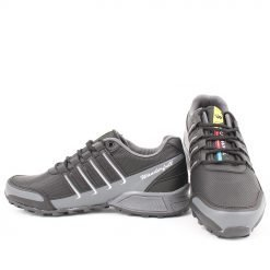 Мъжки маратонки в черно и сиво