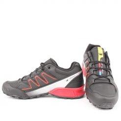 Мъжки маратонки в черно и червено