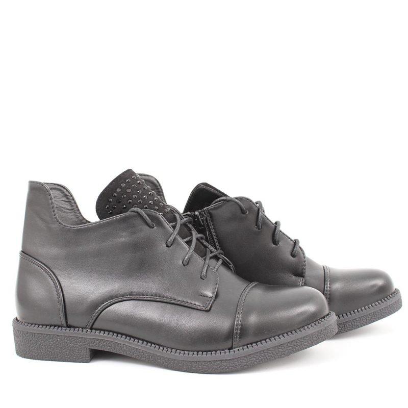 damski klark cherna koja 800x800 - Обувки Онлайн VenDemi